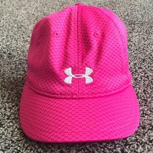 NWOT Pink Under Armor Adjustable Baseball Cap Hat